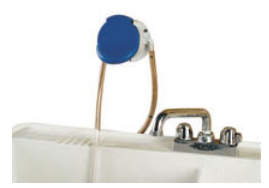 Faucet Mounted Slide Valve Actuated Proportioner by Dema